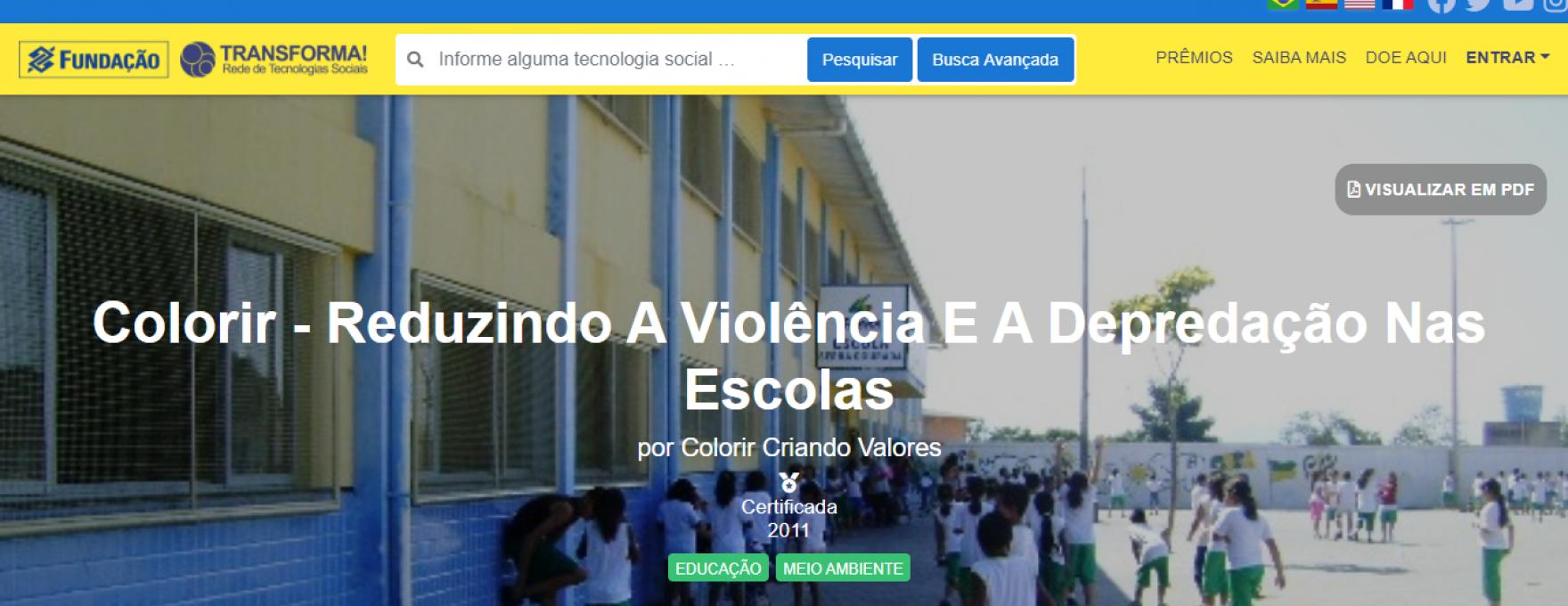CERTIFICAÇÃO BB TECNOLOGIA SOCIAL
