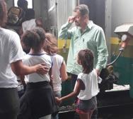 NTV - NA TRILHA DOS VALORES - AULA DE CAMPO - PASSEIO DE TREM.