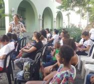 DIA INTERNACIONAL DO CONTADOR DE HISTÓRIA - COMEMORAMOS JUNTO COM O GRUPO CHÃO DE LETRAS
