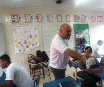 FECHAMENTO DO PROJETO CUIDA DE MIM - EEEFM TEOTÔNIO B. VILELA