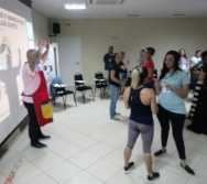 PARTICIPAÇÃO NO PROJETO CONTANDO HISTÓRIAS - OFICINAS (BALNEÁRIO DE CAMBORIU)