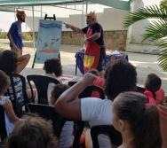 DIA INTERNACIONAL DO CONTADOR DE HISTÓRIA - COMEMORAMOS NA BIBLIOTECA ADELPHO MONJARDIM