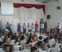 FECHAMENTO DO PROJETO CUIDA DE MIM - EMEF ANTÔNIO V. REZENDE - VESP.