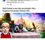 Beth Daniel e seu baú encantado: Part. Eugênio Fernandes | Tema: Inclusão - Tv Paschoal Dantas Oficial