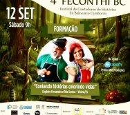 4º FECONTHI - FESTIVAL DE CONTADORES DE HISTÓRIAS DE BALNEÁRIO CAMBORIÚ - SC - PARTICIPAÇÃO DE EUGENIO E RITA