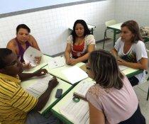 OFICINA DE ELABORAÇÃO DE PROJETOS SOCIAIS - PROMOVIDO PELA IMADESA - MINISTRADO PELO COLORIR - EMPRESA:MARCA AMBIENTAL