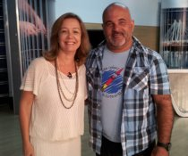 Entrevista com a apresentadora Sandra Freitas, no programa Gazeta Comunidade