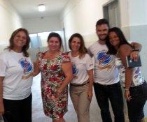 4 escolas visitadas para implantação dos PROGRAMAS COLORIR SUSTENTÁVEL E CONSUMO EFICIENTE DE ENERGIA NAS ESCOLAS