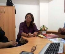 REUNIÃO NA SEMED COM SRA. SILVANIA - RESPONSÁVEL PELOS PROJETOS ESPECIAIS DA PMVV