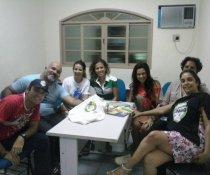 REUNIÃO DO COLORIR COM O PAC - PROGRAMA ADOLESCENTE CIDADÃO - SERRA -ES (PARCERIAS)