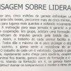 CURSO DE APRIMORAMENTO DE LIDERES - EEEFM TEOTONIO B. VILELA - CARIACICA - ES