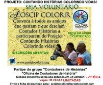 SEJA VOLUNTÁRIO - PROJETO CONTANDO HISTÓRIAS COLORINDO VIDAS!