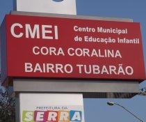 CMEI CORA CORALINA - LANÇAMENTO DO PROGRAMA COLORIR SUSTENTÁVEL - SERRA - ES