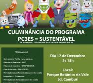 ENTREGA DE CONVITES E ATUALIZAÇÃO DAS PLACAS TERMÔMETRO NAS ESCOLAS INTEGRADAS AO PC3ES.