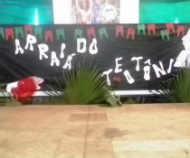Fechamento do semestre - Festa Junina no EEEFM Teotônio B. Vilela