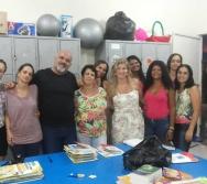Educadores da Unidade de Educação Infantil INTEGRAÇÃO em diálogo com a OSCIP COLORIR.