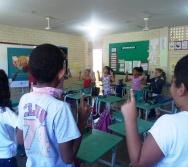 NA TRILHA DOS VALORES - CAPRI DE ALUNOS - ESCOLA ESCOLA EMEF AMÉRICO GUIMARÃES - SERRA