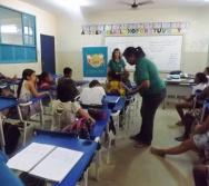 NA TRILHA DOS VALORES - CAPRI DE ALUNOS - ESCOLA ESCOLA EMEF ANTÔNIO V. DE REZENDE - SERRA