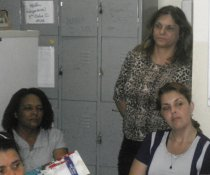 CAPRI DE PROFESSORES NA EMEF ANTONIO V. REZENDE - DISCIPLINA COLORIDA