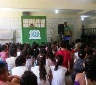 FESTEJOS DO PROJETO NA TRILHA DOS VALORES - EMEF AMÉRICO GUIMARÃES - CARAPINA GRANDE