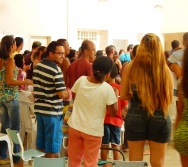FAMÍLIA NA ESCOLA - CMEI Mª AMÉLIA - P. CARAPEBUS