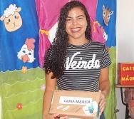 Caixa Mágica dos alunos do Curso Contando Histórias Colorindo vidas