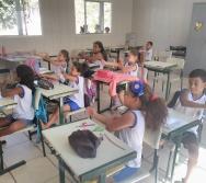 PROJETO CUIDA DE MIM - ENFRENTAMENTO AO BULLYING - SENSIBILIZAÇÃO DE ALUNOS 1º ENCONTRO