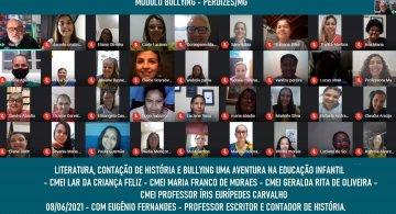 FORMAÇÃO DE EDUCADORES - LITERATURA, CONTAÇÃO DE HISTÓRIA E BULLYING UMA VIAGEM NA EDUCAÇÃO INFANTIL - PERDIZES/MG
